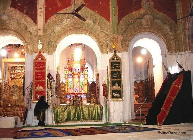 Lucknow Moharram-Sibtainabad Imambada