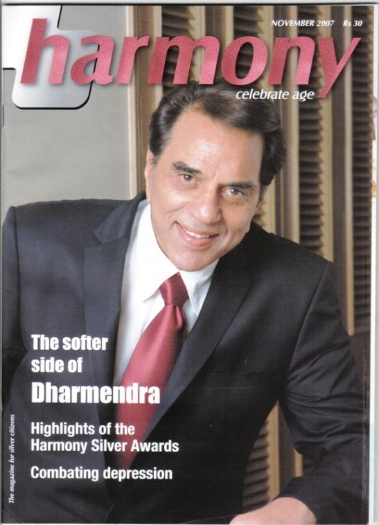 Article in Harmony magazine