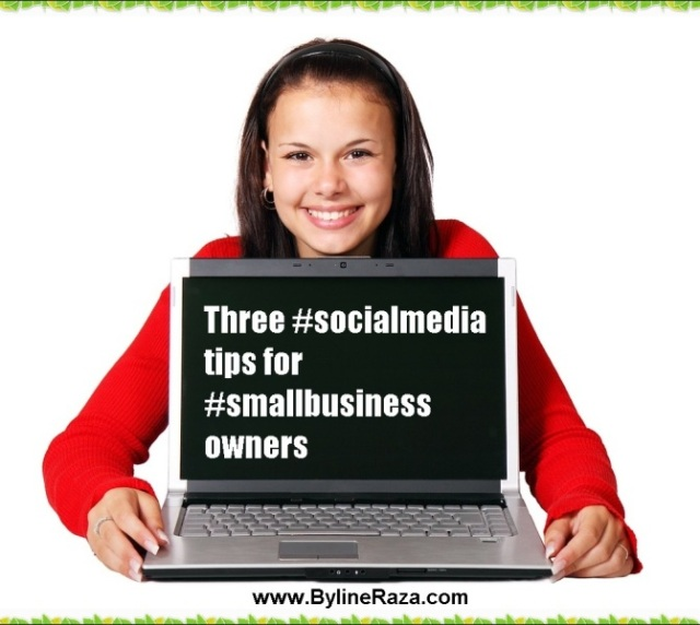 Social media, small business