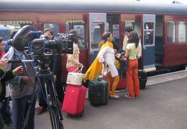 Bollywood shooting