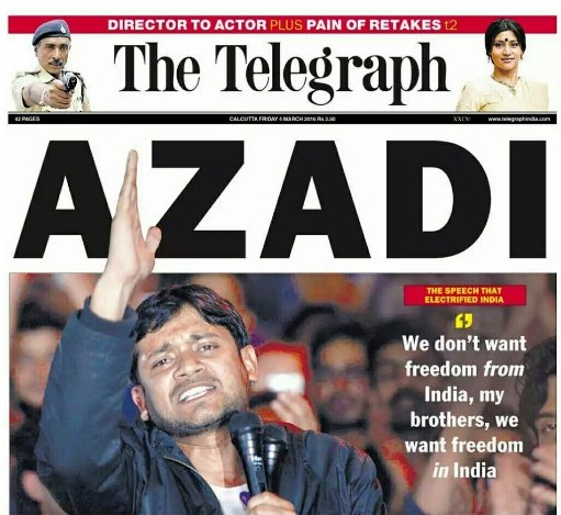 Telegraph India-front page