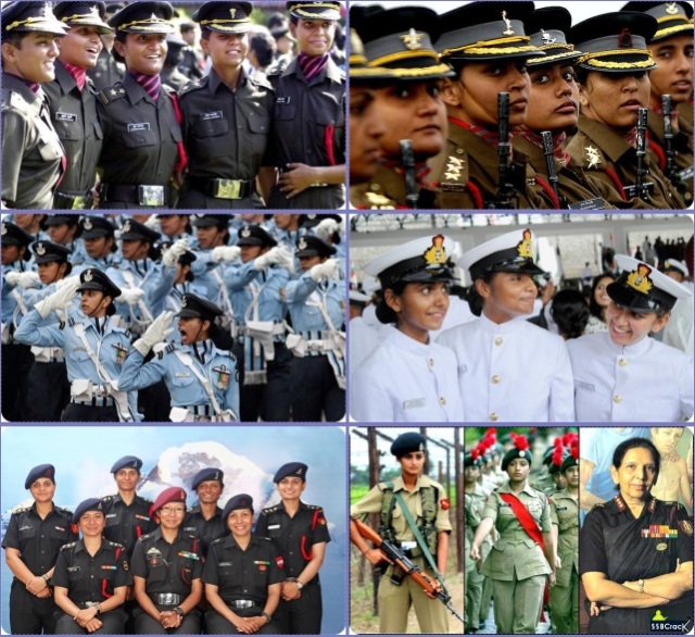 women in uniform-tile